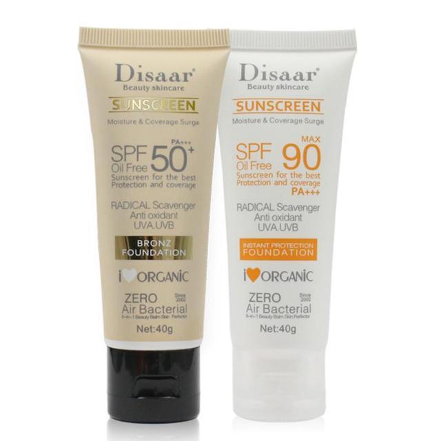 Facial Body Sunscreen Whitening Sun Cream Sunblock Skin Cream Anti-Aging Oil-control Moisturizing TSLM1 2