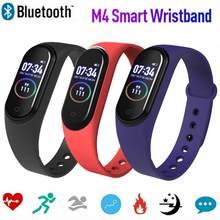 M4 Smart Armband Bluetooth Sport Horloge Smart Band Kleur Screen Waterdicht Hartslag Fitness Voor Android Ios