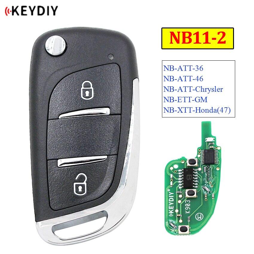 KEYDIY 2 кнопки многофункциональный пульт дистанционного управления NB11-2 серии NB универсальный для KD900 URG200 KD-X2 все функции в одном