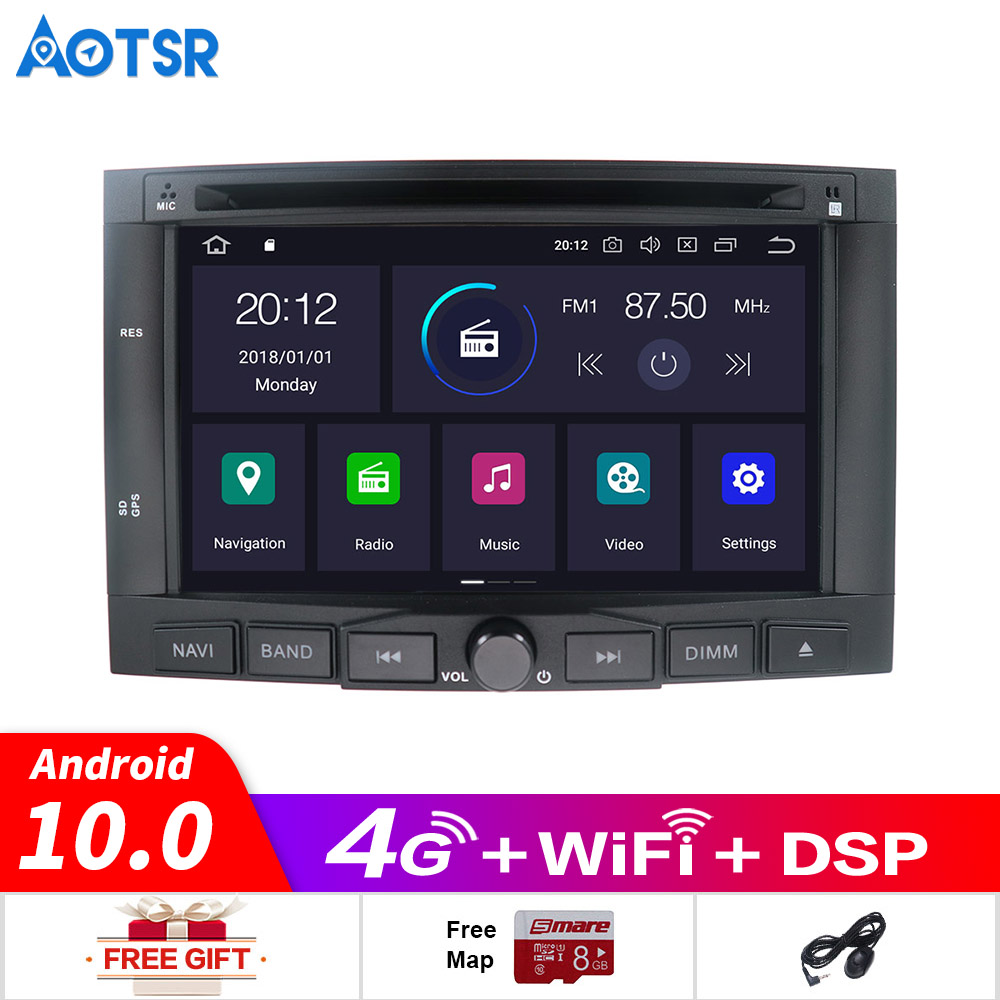 Android 10.0 Car DVD player <font><b>GPS</b></font> navigation radio Stereo <font><b>For</b></font> <font><b>PEUGEOT</b></font> <font><b>3008</b></font> <font><b>For</b></font> <font><b>Peugeot</b></font> 5008 2009+ multimedia radio tape recorder image