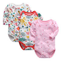 Babies Girls Long Sleeve Clothes Baby Boys Romper Newborn Toddler Infant 0-24 Months One Piece Rompers