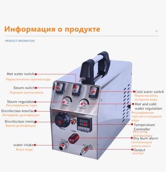 220В коммерческий Электрический паровой очиститель для кухни, кондиционер, машина для паровой очистки автомобиля с дезинфекцией озона