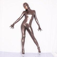 Zentai Bodysuit Costume-Props Tights Glitter-Jumpsuit Full-Coat Stage One-Piece S-XXXL