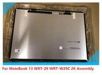 Nuevo 13 pulgadas notebook para For Huawei MateBook 13 WRT 29 WRT W29C 2K LCD asamblea de pantalla 2160x1440 resolución
