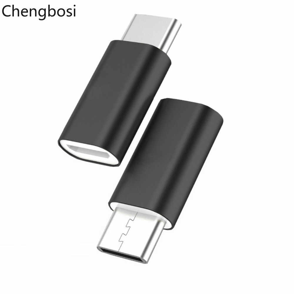 USB Adapter  Micro USB To  Type C OTG Cable Type C Converter for Macbook Samsung Galaxy S8 S9 Huawei P20 Pro P10 OTG Adapter