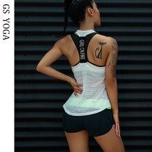 Женский спортивный топ-майка для тренажерного зала, фитнес-майка без рукавов, спортивная одежда, майка для йоги, спортивный жилет для бега