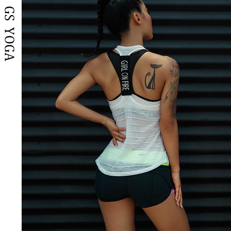 Vrouwen Sport Tank Tops Voor Gym Vest Top Fitness Mouwloos T-shirt Sportkleding Yoga Tank Top Gym Vest running Workout