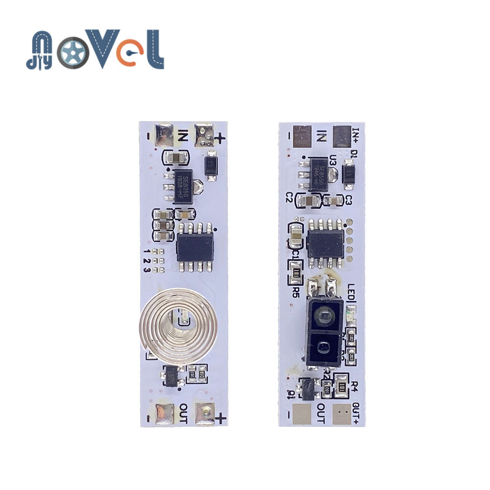 Touch Switch Capacitive Module 5v 24v 3a Led Dimming Control Lamps Active Components Short Distance Scan Sweep Hand Sensor Cerstyle Me