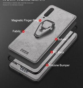 Image 5 - Do Samsung Galaxy S20 Ultra FE uwaga 20 10 5G S10 Plus S9 S8 A30 A50 A70 A80 A90 A51 A71 magnes uchwyt etui na uchwyt pokrywy