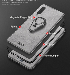 Image 5 - for Samsung Galaxy S20 Ultra FE Note 20 10 5G S10 Plus S9 S8 A30 A50 A70 A80 A90 A51 A71 Magnet Holder Case Fabric Bracket Cover