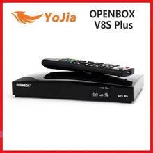 Originale Openbox V8S Plus DVB S2 ricevitore satellitare digitale S V8 WEBTV Biss chiave 2x USB Slot USB Wifi 3G youporno NEWCAMD