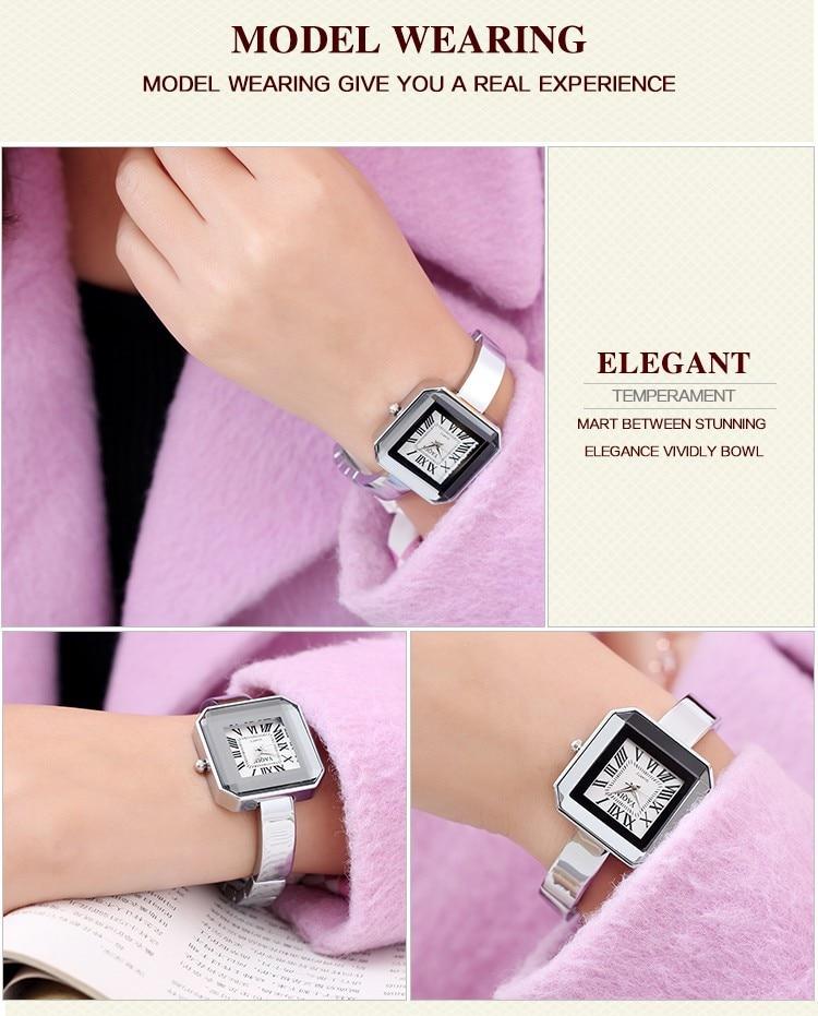 2020 nova moda senhoras pulseira relógio de