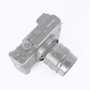 Image 4 - 7artisans anneau adaptateur pour LM monture objectif pour GFX monture Applicable à Fuji GFX50R GFX50S moyen format micro simple