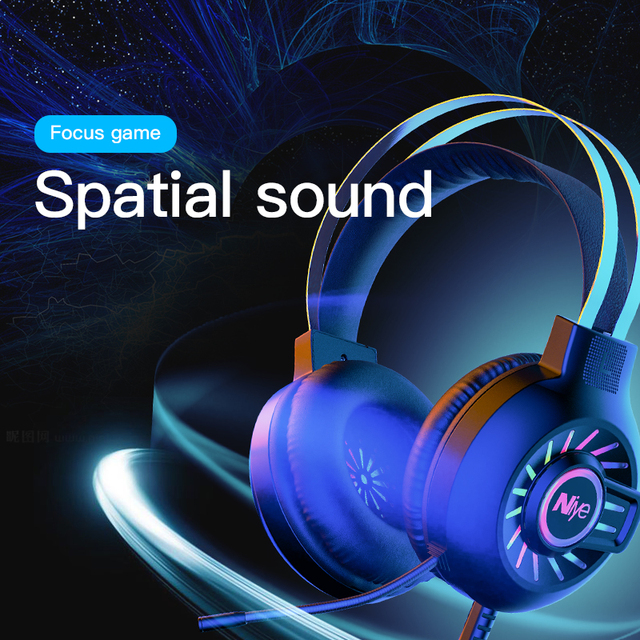 Professional Gaming Headphone Headset Gamer Wired USB PC Computer 7.1 Surround Sound Bass Stereo Sealed Ear Headset Mic Laptop