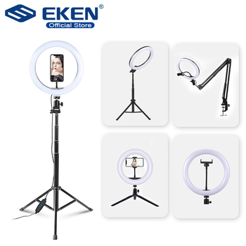 Selfie Ring Light Photography light led rim of lamp with mobile Holder large tripod stand for tik Youtube tiktok tok ringlight 1