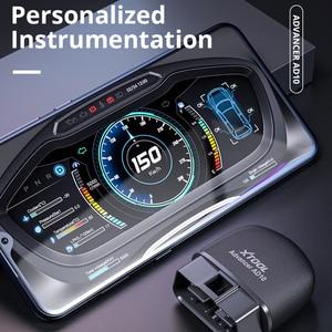Image 4 - XTOOL AD10 OBD2 אבחון סורק Bluetooth ELM327 מהנדס קוד לקרוא לעבוד עם iOS/אנדרואיד ו HUD ראש Up Display