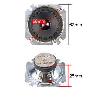 Image 2 - GHXAMP 2.5 بوصة مكبر الصوت المتكلم 6Ohm 30 واط 60 واط ورقة مخروط ثلاثة أضعاف 2 قطعة