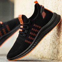 2019 New Mesh Men Sneakers Casual Shoes Lac-up Men Shoes Lightweight Comfortable Breathable Walking Sneakers Zapatillas Hombre 2
