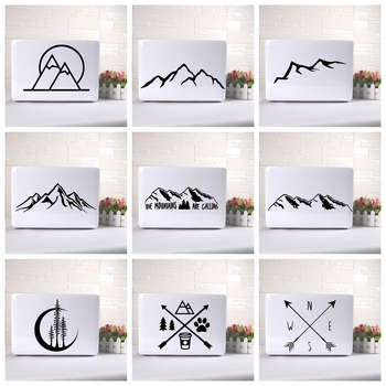 Black/White Partial Scenery Lamp Funny Laptop Decal Pegatina Vinilo Surface Book