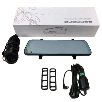 Streaming Media Driving Recorder New 10-Inch Full-Screen Rearview Mirror Hd Before And After 1080P Driving Record