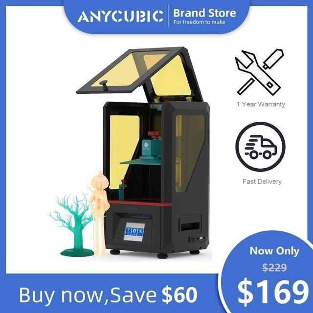 Anycubic פוטון 3D מדפסת 2019 בתוספת גודל SLA/LCD דיוק גבוה 2.8 פוטון מבצע אור ריפוי Impresora imprimante 3d ערכות