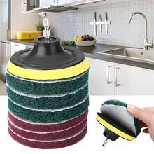 8 шт/компл щетка для электродрели скраб колодки скребок чистки