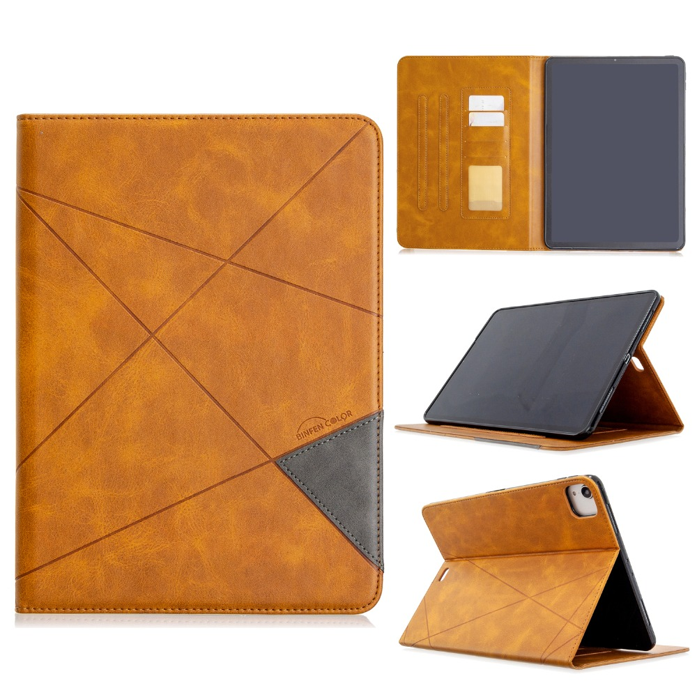 With Case Holder Cover Soft For Wallet Silicone Leather 2020 PU Pro iPad Back 12.9 2018