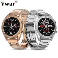 2020 Vwar Bluetooth Smart Uhr Männer EKG Erkennung IP68 Wasserdicht Mehrere Sport Smartwatch Fitness Tracker für Huawei IOS Telefon
