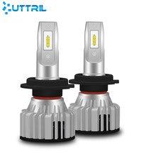 Uttril Car Led Light H7 H4 LED H1 Led Headlight Bulb 9005 Hb3 9006 Hb4 9012 H8 H9 H11 Motorcycle Lamp 16000LM 6000K 12V