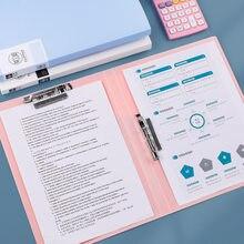 Сумка для документов A4 один двойной зажим Morandi папка Биндер журнал органайзера школьные офисные ноутбуки для хранения канцелярских принадл...
