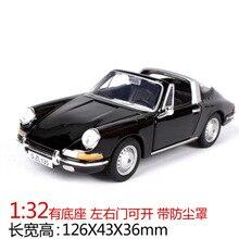 19661:32 Escala de aleación de Metal Alfa Romeo Spider SL Vintage Convertible coche abierto modelo clásico vehículos de fundición colección de juguetes chico