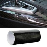 1pc 30*152cm carro 7d adesivo à prova dwaterproof água de fibra de carbono vinil carro envoltório filme adesivo decalque pvc adesivos anti uv|  -