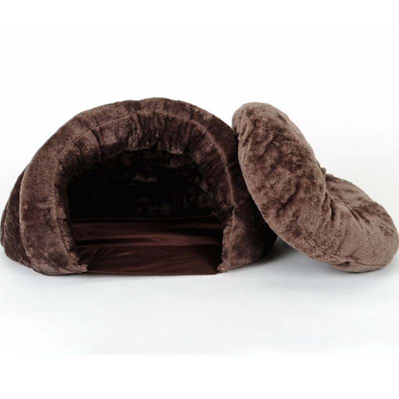 Warm Pet Small Dog Cat Bed Autumn Winter Warm Dogs Cat House Portable Small Dogs Cat Sleeping Supplies CM