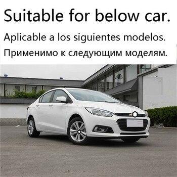 Auto Volante Dell'automobile Cromo Decorativo Car Styling Brillante Paillettes Accessorio 15 16 17 18 19 PER Chevrolet Cruze