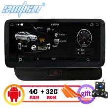 سويتف 4GB + 32GB أندرويد 9.0 سيارة مشغل ديفيدي لأودي Q5 2009 2016 سيارة الوسائط المتعددة السيارات سيارة الصوت غس