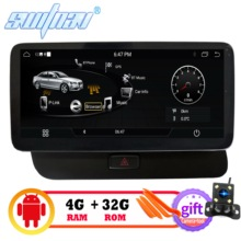 Автомобильный DVD плеер 4 Гб + 32 ГБ Android 9,0 для AUDI Q5 2009 2016 Автомобильный мультимедийный автомобильный аудио gps