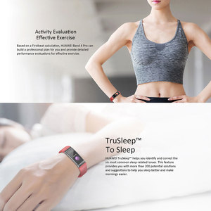 Image 2 - Huawei Band 4 Pro Smart Band Heart Rate Health Monitor Standalone GPS Proactive Health Monitoring Color Touchscreen Blood Oxygen