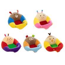 Cartoon Baby Sitze Sofa Unterstützung Stuhl Abdeckung Lernen zu Sitzen Sofa Haut für Infant Fütterung Stuhl Weiche Kleinkind Nest Puff keine Baumwolle