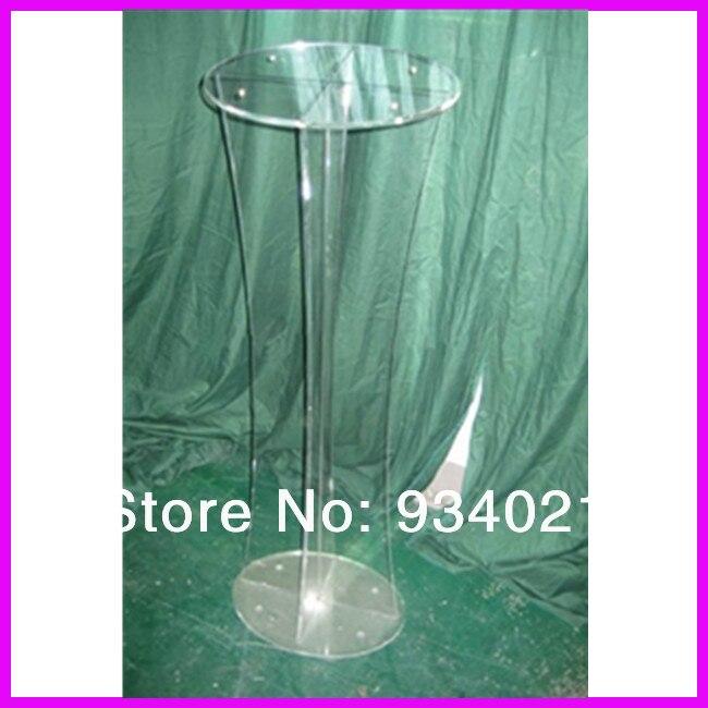 Round Top Acrylic Lectern, Perpsex Podiums Plexiglass
