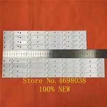 8 unids/set LED BacklightL tira para LE40F3000W barra de luz LT 40M645 LSC400HM06 8 LED40D11 ZC14 01 LED40D11 ZC14 02 30340011202/201