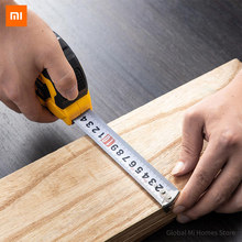 DELI tool steel tape measure 5 m / 10 m size small portable drawing mapping measurement calculation Wrench set