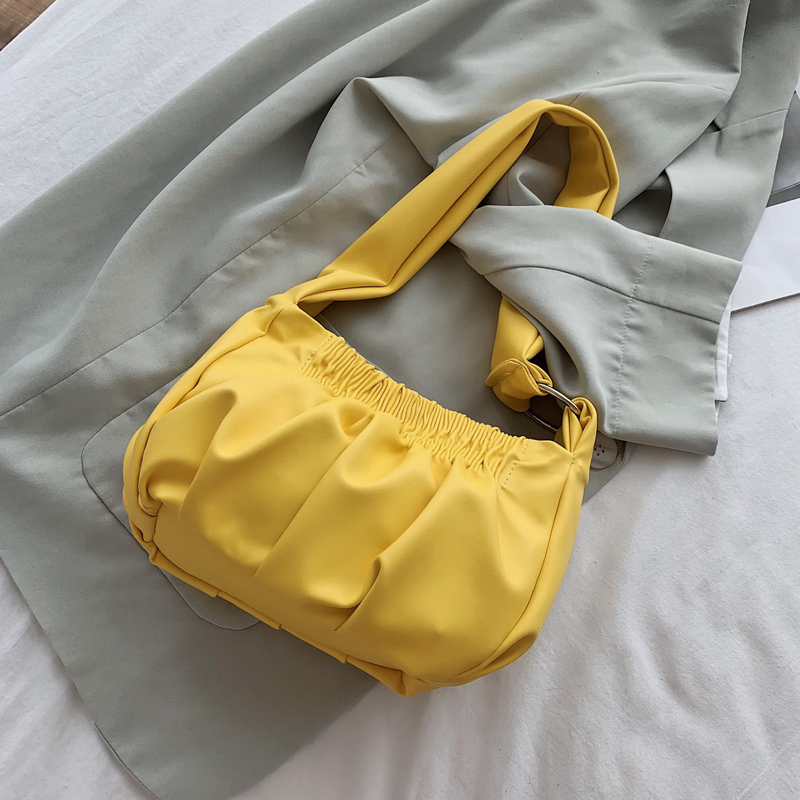 Lemon Fashion Diagonal Single Shoulder Workout Bag