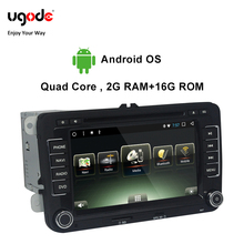Ugode Car Multimedia Player GPS Navigation 7 Inches Screen Monitor Bluetooth Android OS For VOLKSWAGEN GOLF(MK6)(2009-2012)