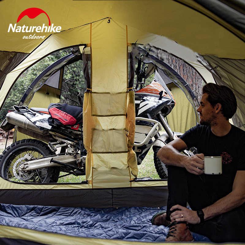 Nature randonnée nuage Tourer 2 personnes moto tente en plein air grand espace Tunnel tente coupe-vent en plein air voyage tentes Camping randonnée
