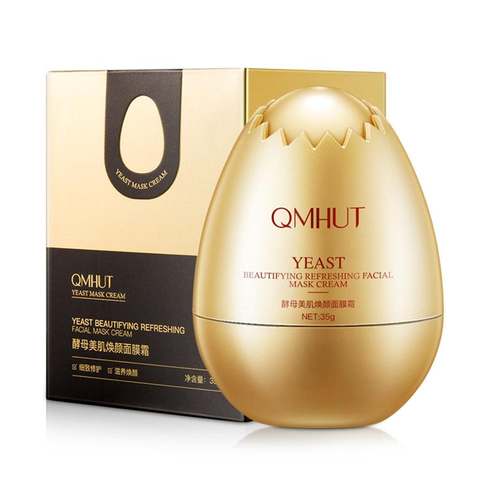 Facial Cream Eggs Face Oil Control Shrink Pores Whitening Brighten Supple Nourish  Skin Care 35g
