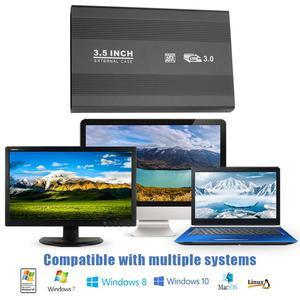 VKTECH 3,5 дюймов жесткого диска SATA HDD SSD HDD корпус USB3.0/USB2.0 внешний жесткий диск SSD чехол Алюминий сплав жесткий диск чехол Корпус чехол