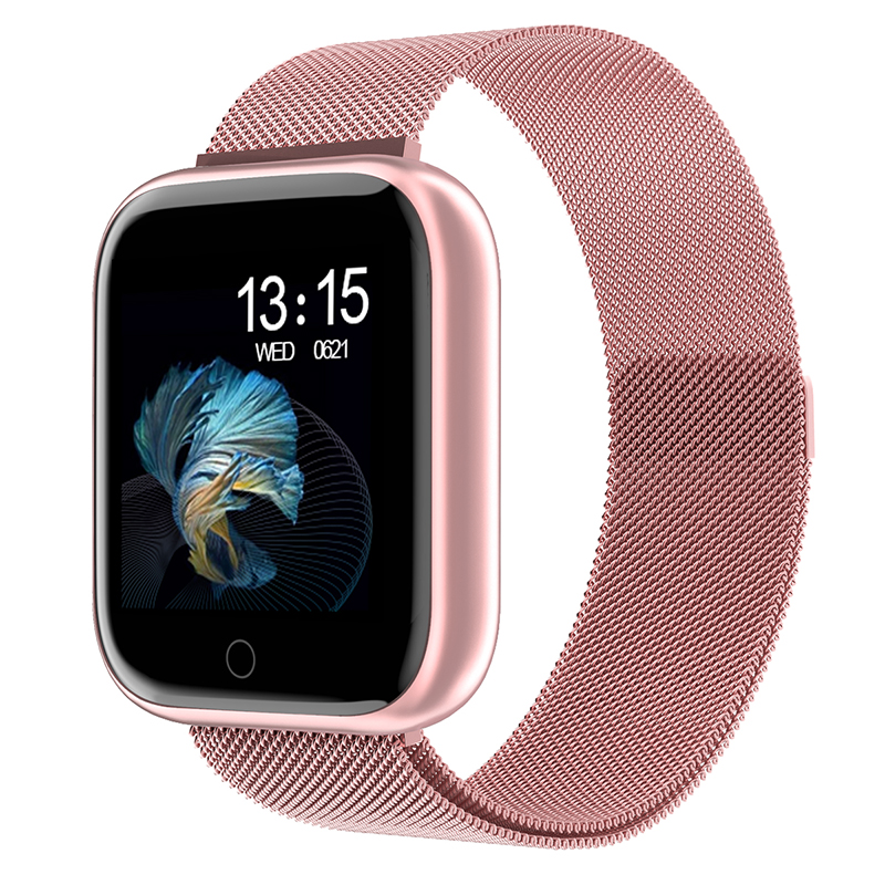 Mulheres relógio inteligente p70 p68 mais bluetooth à prova dbluetooth água masculino smartwatch para apple iphone xiaomi monitor de freqüência cardíaca fitness rastreador