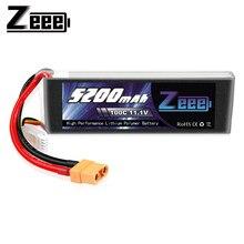 Zeee – batterie Lipo 3S, 11.1V, 5200mAh, 100C, avec connecteur XT90, en graphène, pour voiture, bateau, hélicoptère, avion