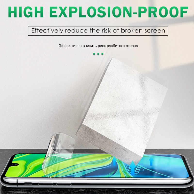 25D Penuh Penutup untuk Ulefone Note 7/7P Pelindung Layar Hidrogel Film Pelindung Film untuk Ulefone S11 Power 6 Bukan Kaca