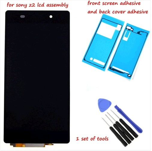 5.2 ''D6502 D6503 D6543 LCD For SONY Xperia Z2 Display Touch Screen Digitizer Assembly For SONY Xperia Z2 LCD